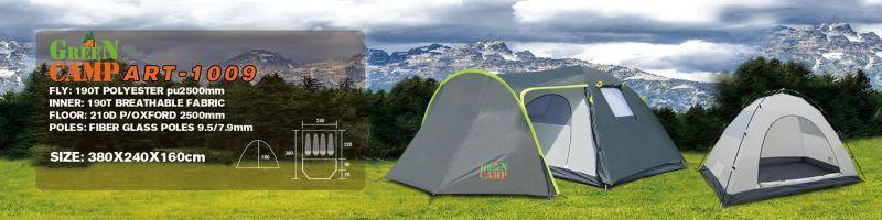 Палатка четырехместная GreenCamp 1009 - Фото 6