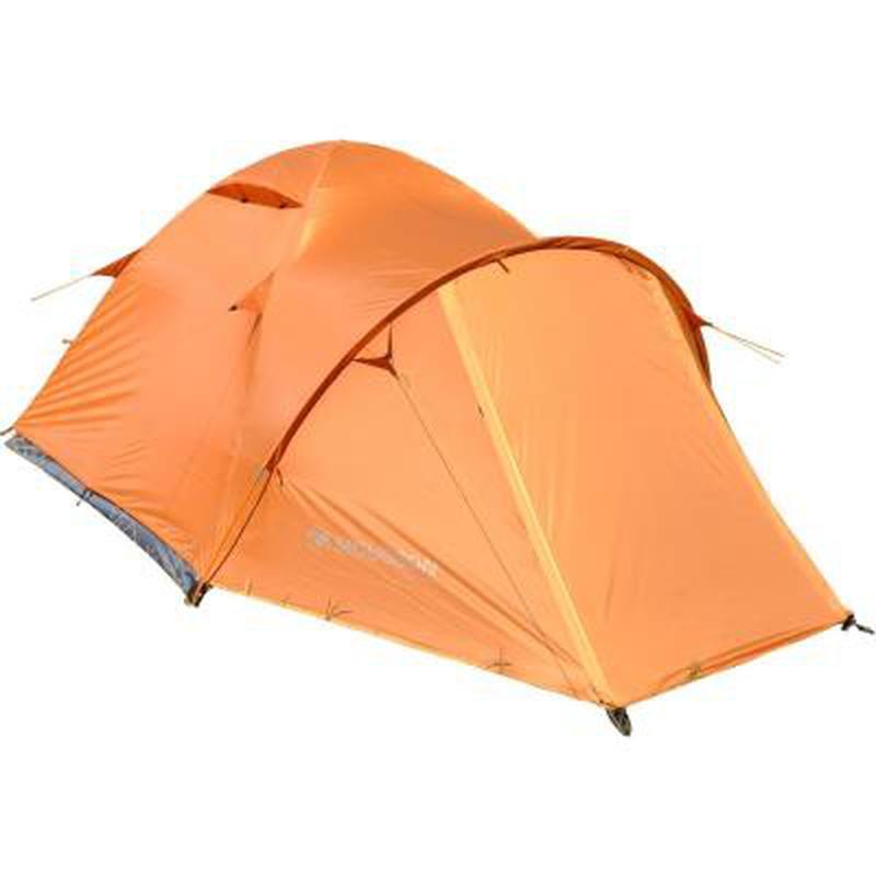 Палатка для пеших походов!!! Четырехместная оранжевая палатка!! - Фото 2