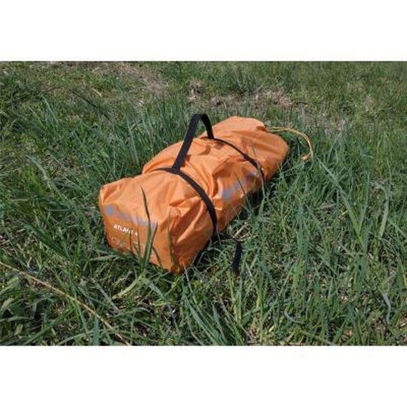 Палатка для пеших походов!!! Четырехместная оранжевая палатка!! - Фото 4