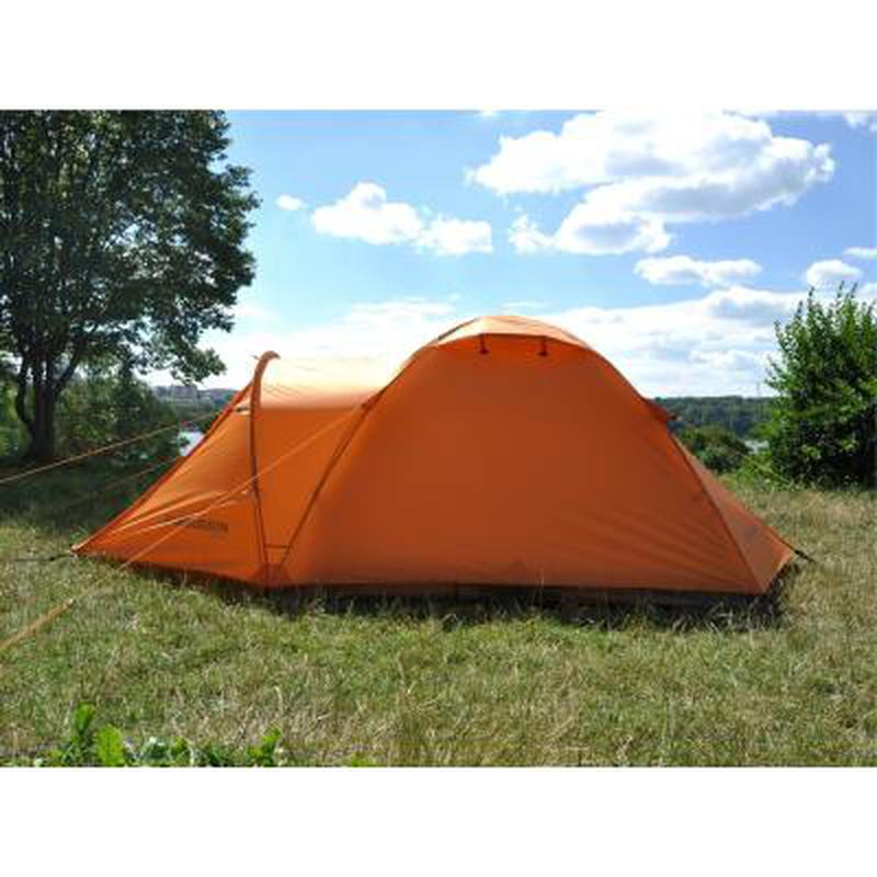 Палатка для пеших походов!!! Четырехместная оранжевая палатка!! - Фото 6