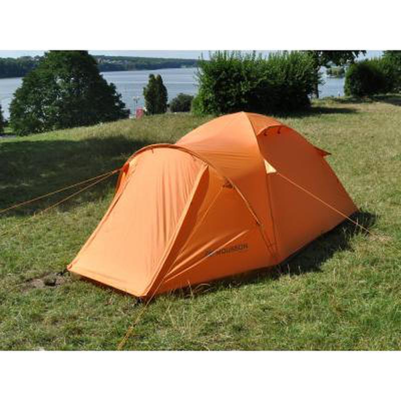 Палатка для пеших походов!!! Четырехместная оранжевая палатка!! - Фото 7