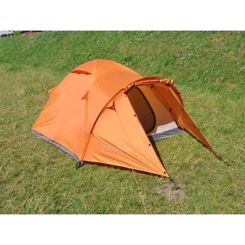Палатка для пеших походов!!! Четырехместная оранжевая палатка!! - Фото 8
