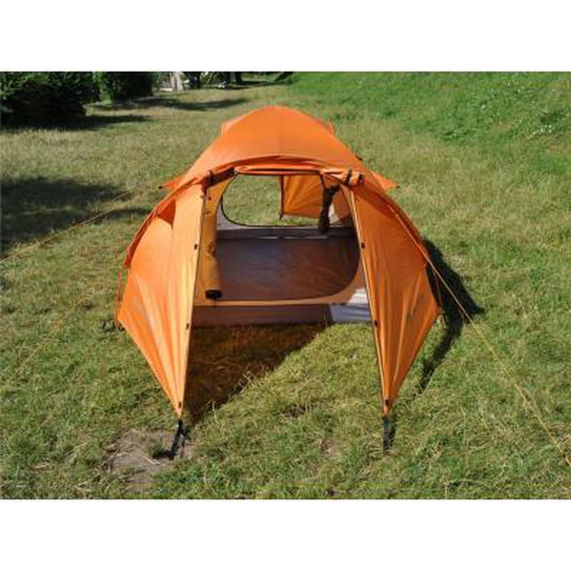 Палатка для пеших походов!!! Четырехместная оранжевая палатка!! - Фото 9