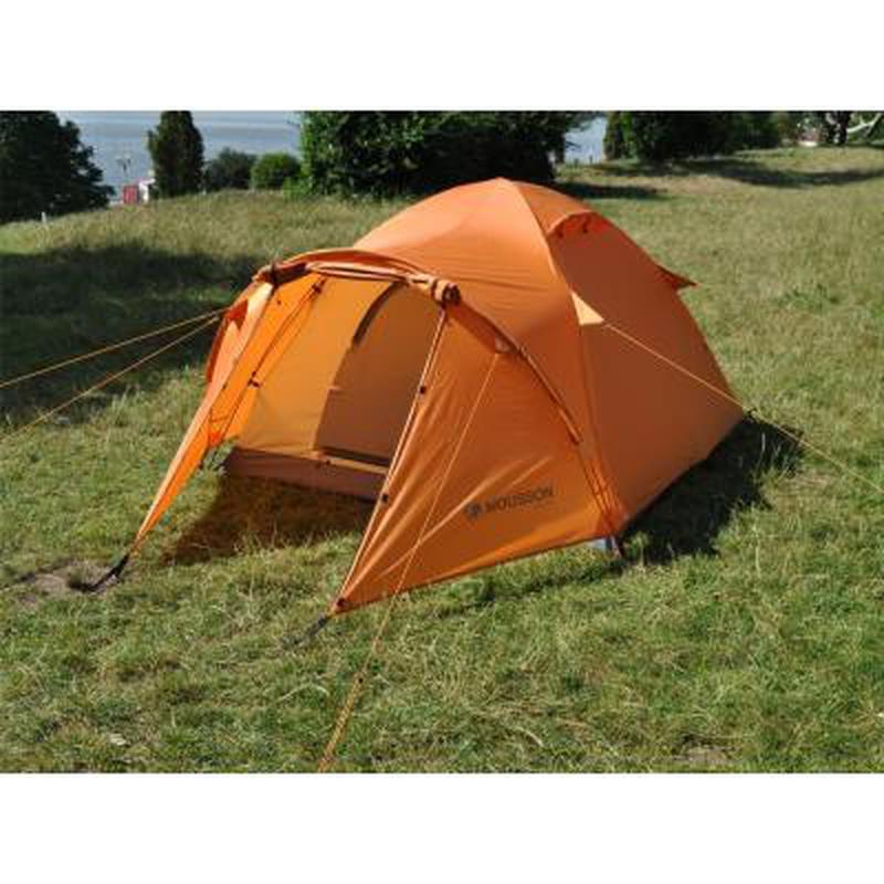 Палатка для пеших походов!!! Четырехместная оранжевая палатка!! - Фото 10