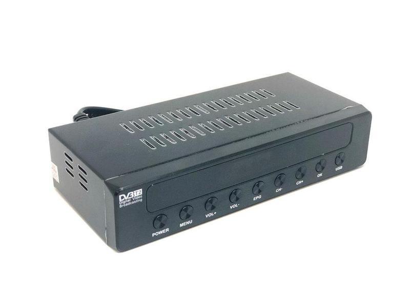 Приставка T-2 DVBT2 DZ045. Цифровой эфирный DVB-T2 приемник