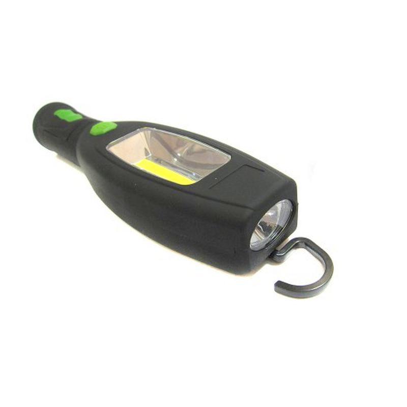 Аварийный светодиодный фонарь  для авто с магнитом и крючком