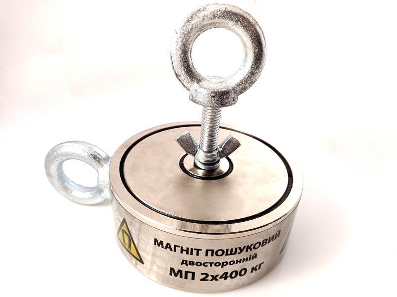 Двухсторонний поисковый магнит МП 2х400 кг - Фото 8