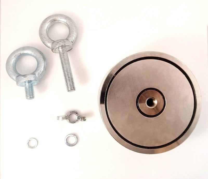 Двухсторонний поисковый магнит МП 2х400 кг - Фото 7