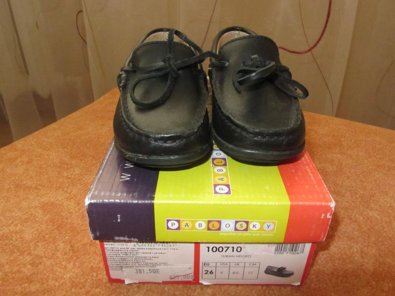 Туфли  кожаные новые - Фото 2