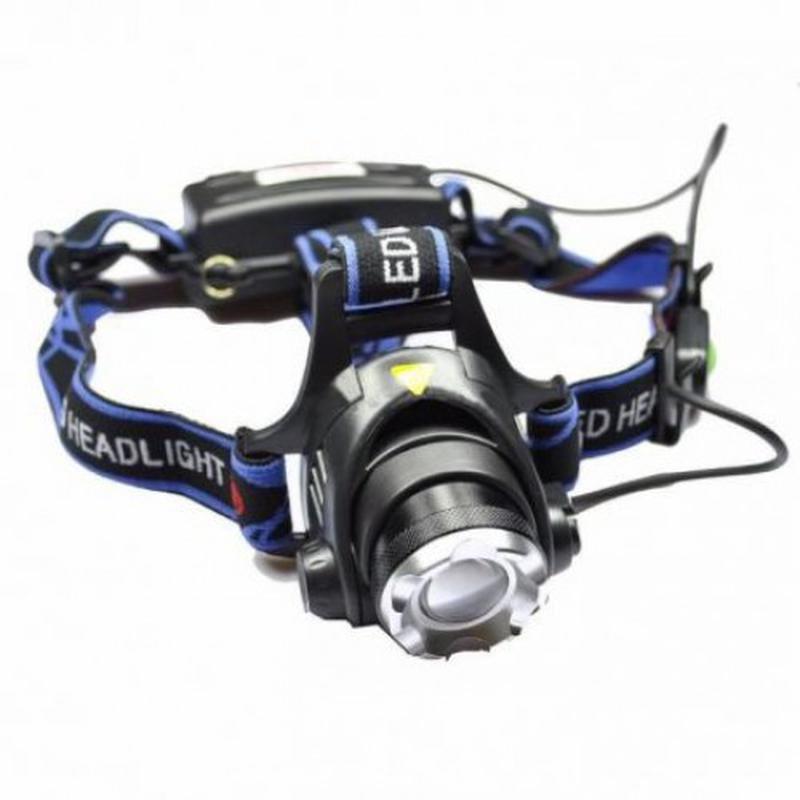 Налобный фонарь Police BL-6699-T6 Фонарик 1200 Lumen БЕЗ ДАТЧИКА