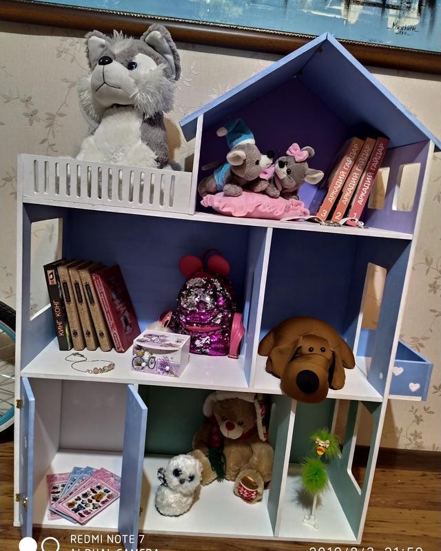 Кукольный домик. Детская мечта.Для кукл monster high, lol, Barbie - Фото 2