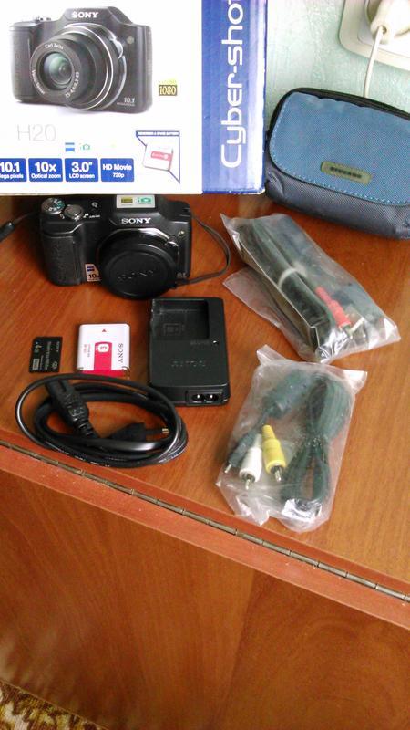 Фотоаппарат Sony Cyber-shot DSC-H20. Как новый. Полная комплек... - Фото 5