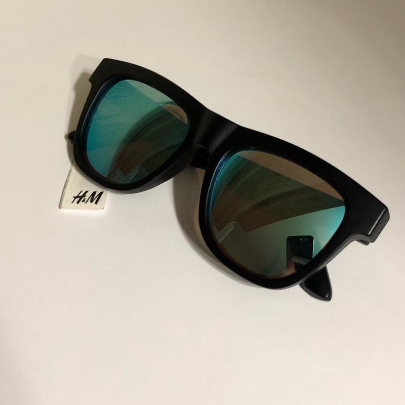 Черные солнцезащитные очки h&m ! - Фото 5
