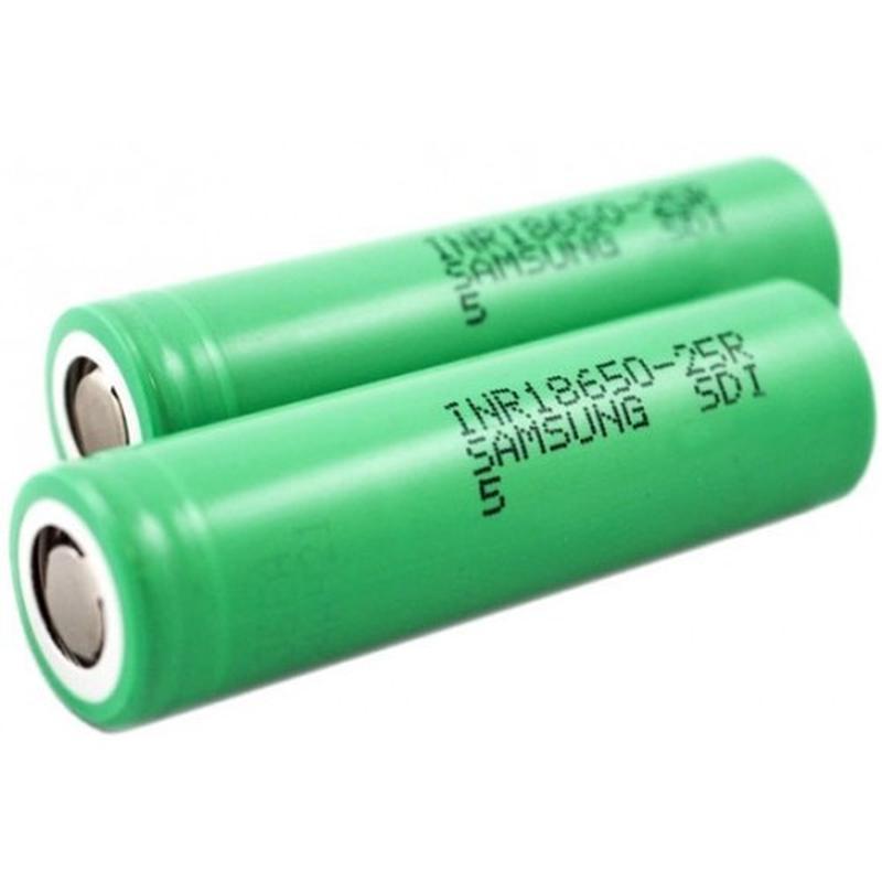 Аккумулятор Samsung 18650-25R 2500 mAh - Фото 2