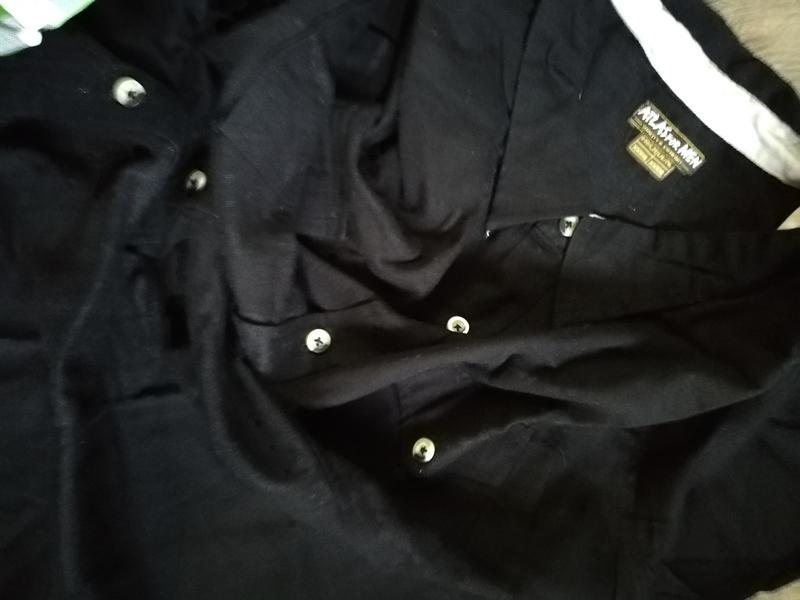 Теплая рубашка фланель р. 4xl atlas for men франция черный - Фото 4