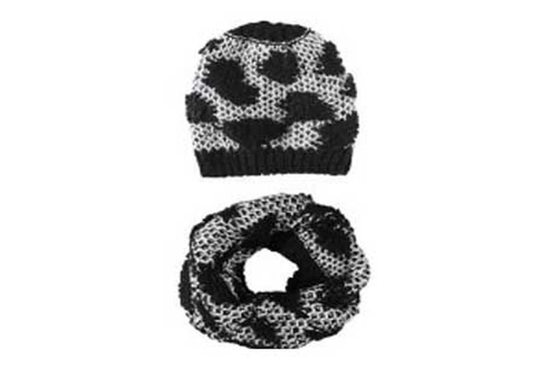 Шапка и шарф-хомут комплект для девочки pepperts германия