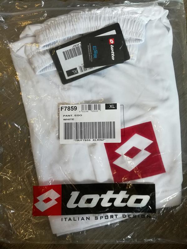 Тренировочные футбольные шорты р.xl(52) lotto италия - Фото 2