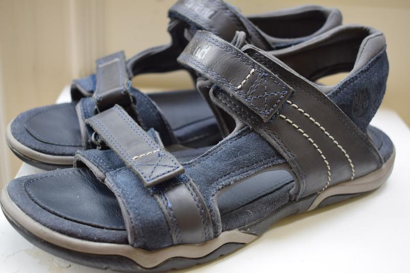 Кожаные босоножки сандалии сандали на липучках timberland р.39...