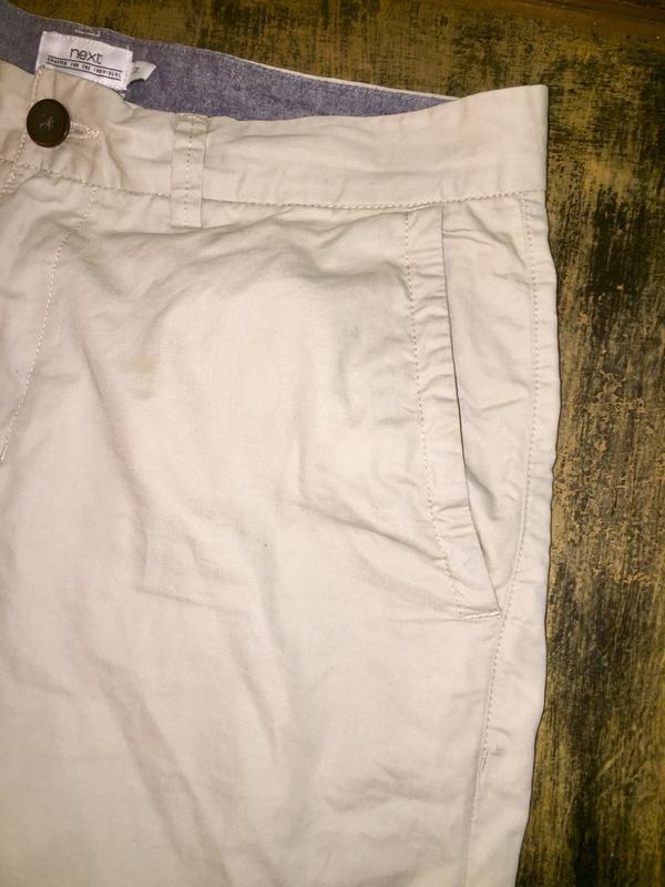 Мужские шорты чиносы чино шорты натурального бежевого цвета от... - Фото 5