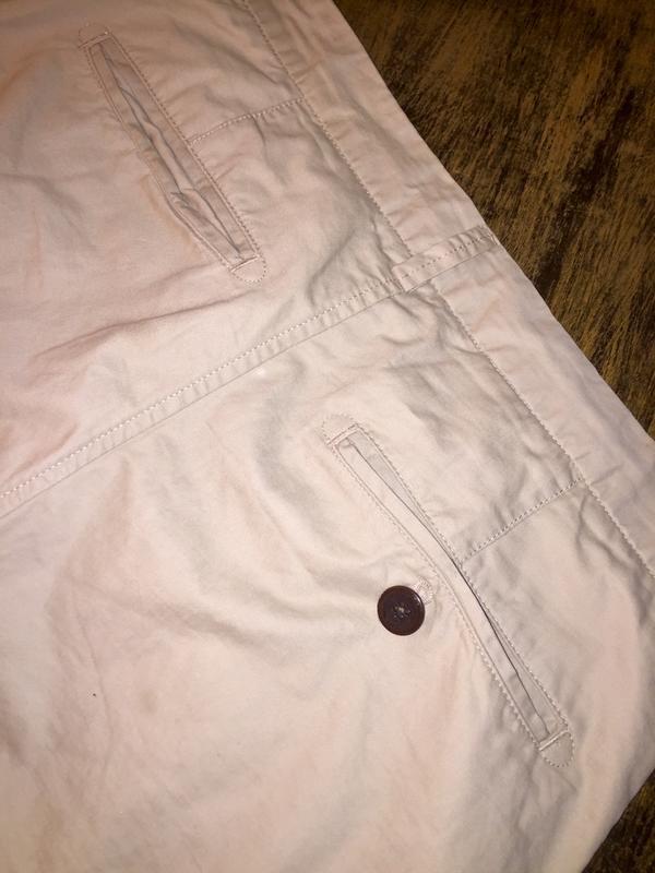 Мужские шорты чиносы чино шорты натурального бежевого цвета от... - Фото 6