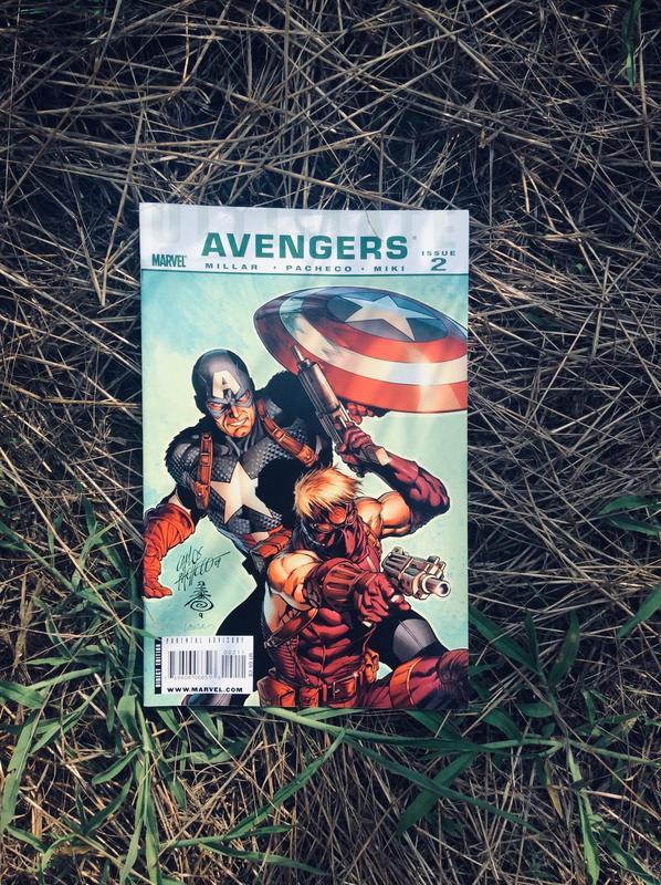 Комиксы Marvel. Мстители, Фантастическая четверка.