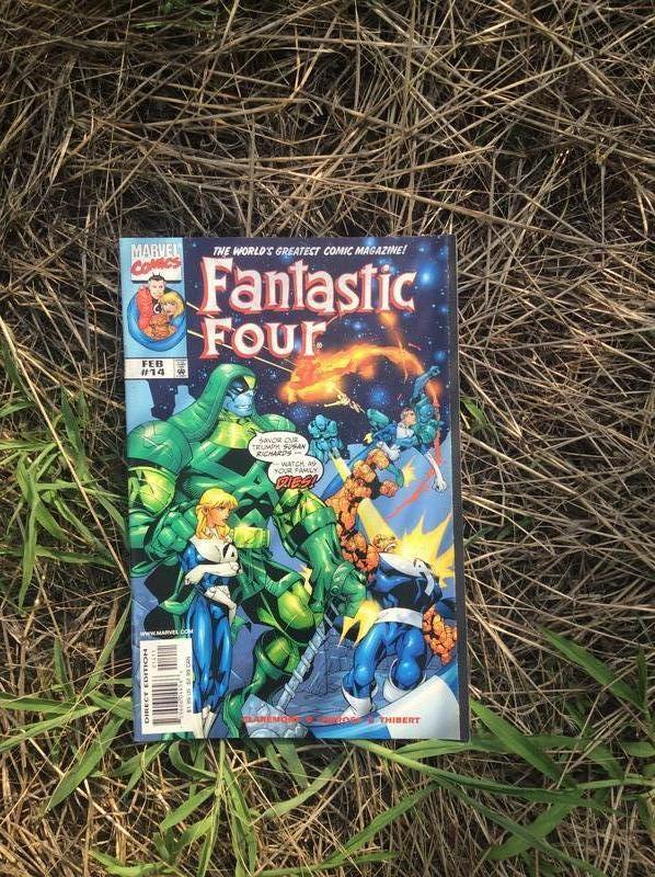 Комиксы Marvel. Мстители, Фантастическая четверка. - Фото 4