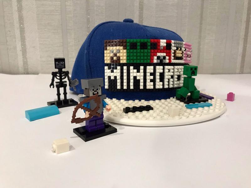 Кепка Лего (Lego) - Майнкрафт (Minecraft)