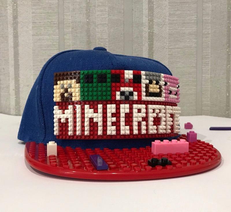 Кепка Лего (Lego) - Майнкрафт (Minecraft) - Фото 3