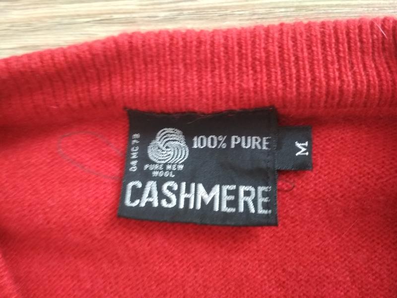 Кашемировый свитер - Фото 3