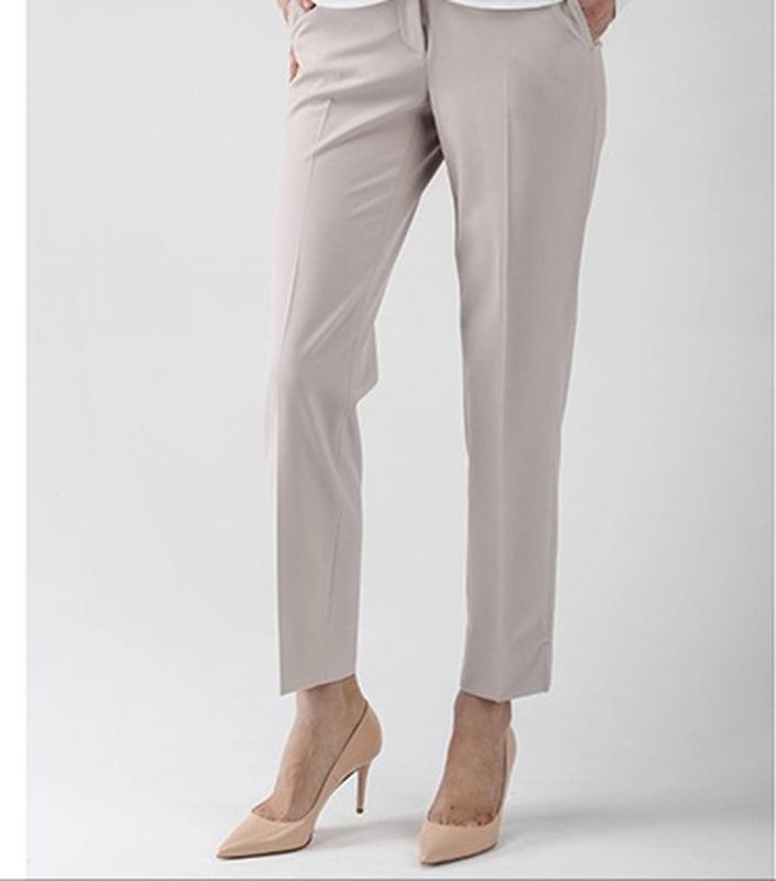 Шерстяные брюки от burberry