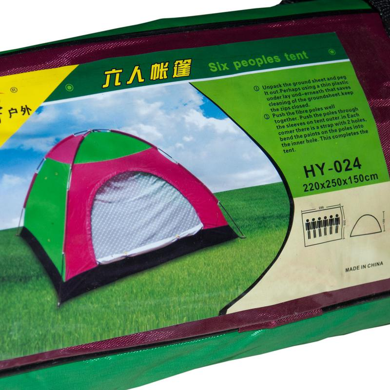 Палатка туристическая 2*2.5 5-8 мест - Фото 3