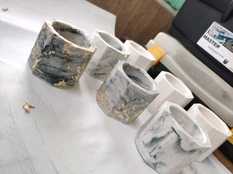 Купить силиконовые формы для бетона кашпо и горшков виды печатного бетона