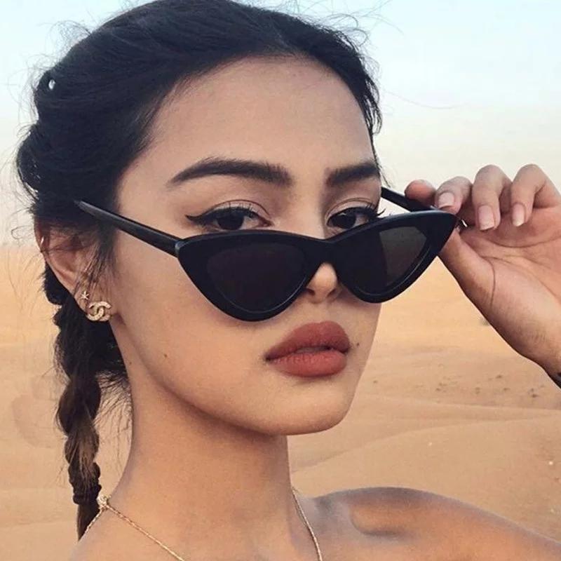 Солнцезащитные очки кошачий глаз