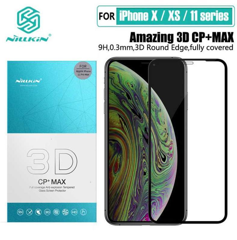 Защитное стекло Nillkin 3D CP+MAX iPhone XS/XS Max/XR/11/Pro/Max