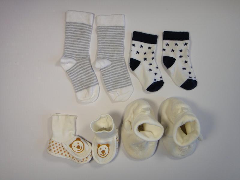 Носки на мальчика 0-2 года 4 шт
