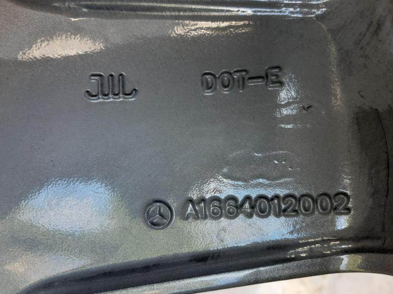 Mercedes-Benz W166 Диск A16640120027X21 - Фото 5