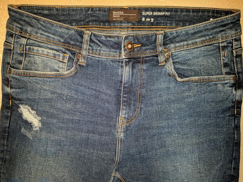 !продам новые мужские джинсы skinny bershka