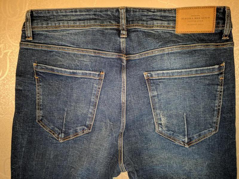 !продам новые мужские джинсы skinny bershka - Фото 3