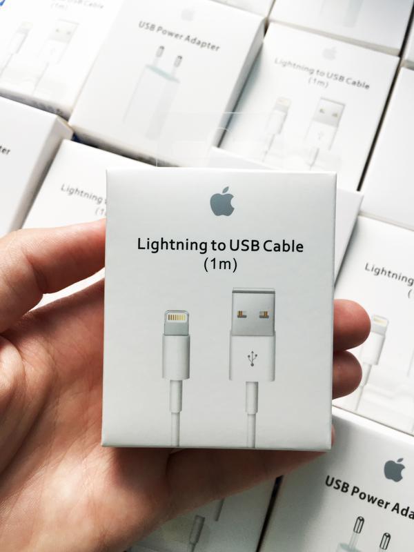 Кабель зарядка для Apple iPhone (Lightning to USB Cable)