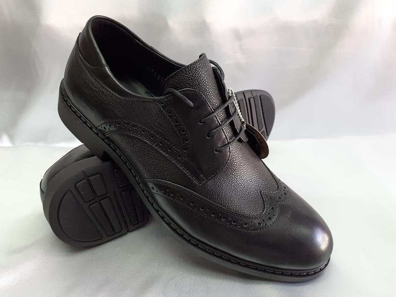 Распродажа!мужские осенние кожаные туфли-броги bertoni 40,41,4... - Фото 2