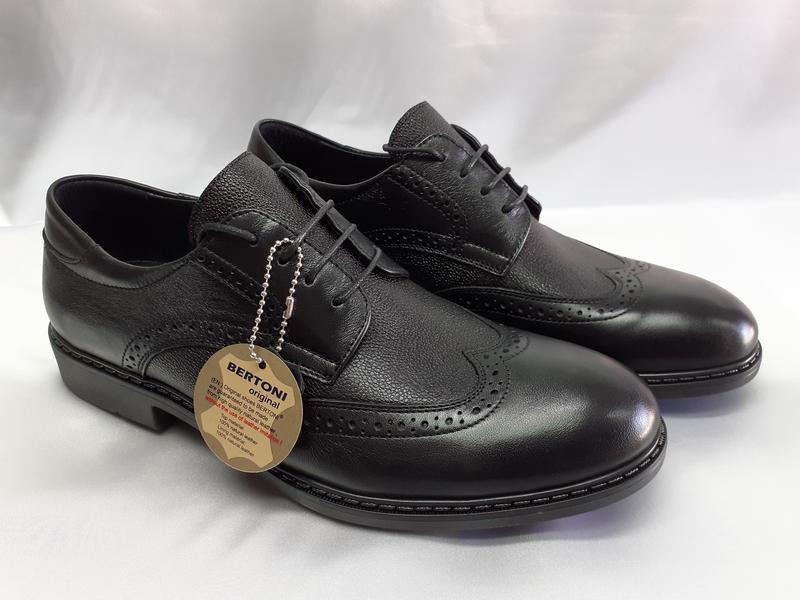 Распродажа!мужские осенние кожаные туфли-броги bertoni 40,41,4... - Фото 3