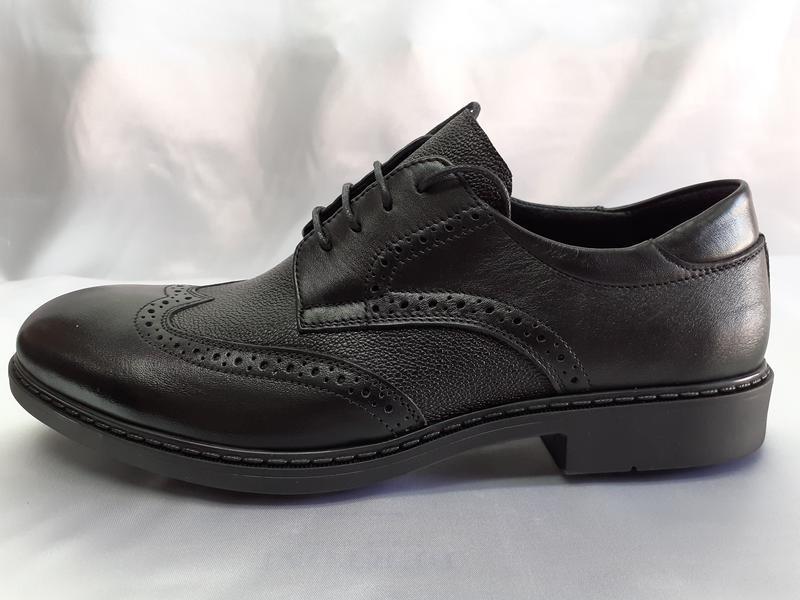 Распродажа!мужские осенние кожаные туфли-броги bertoni 40,41,4...