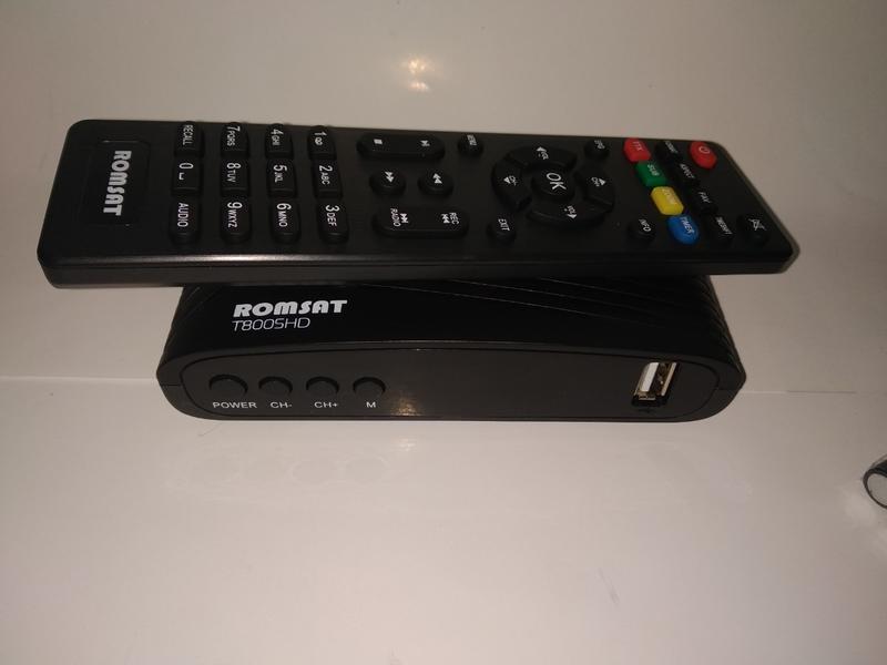 ТВ-ресивер Romsat T8005HD