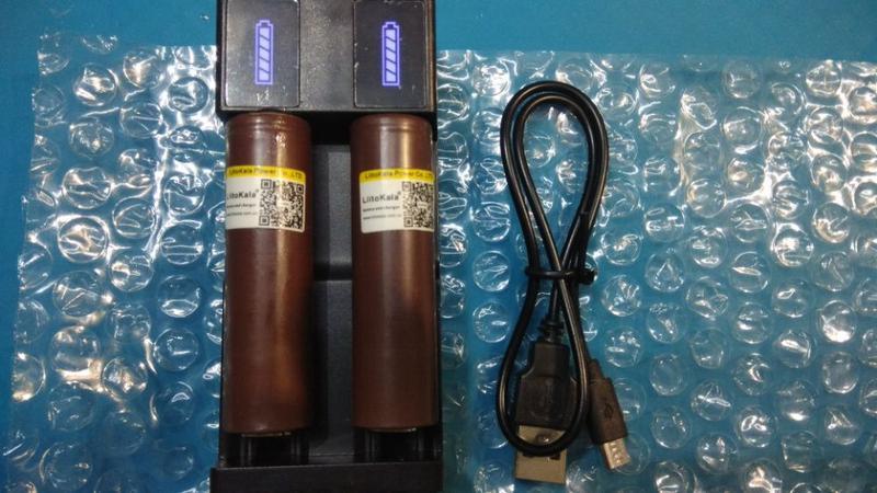 Зарядное устройство (зарядка) для Li-Ion аккумуляторов 18650 - Фото 2