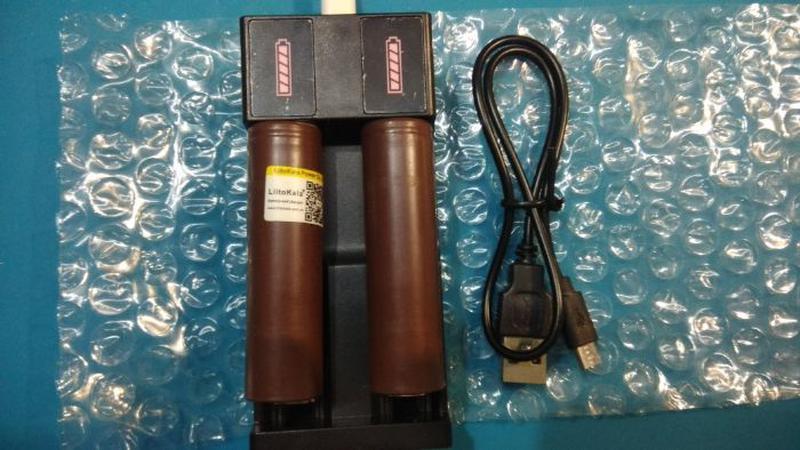 Зарядное устройство (зарядка) для Li-Ion аккумуляторов 18650 - Фото 3