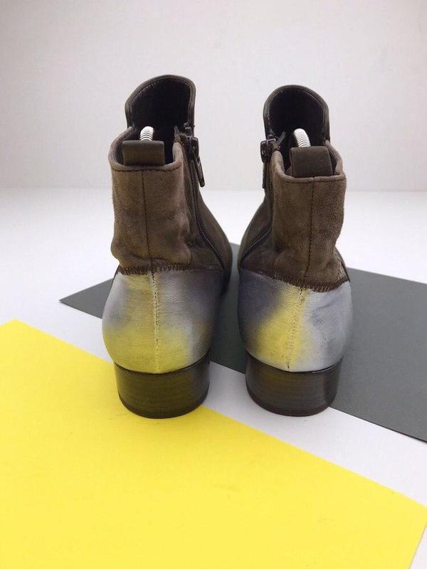 Кожаные демисезонные ботинки gabor - Фото 5
