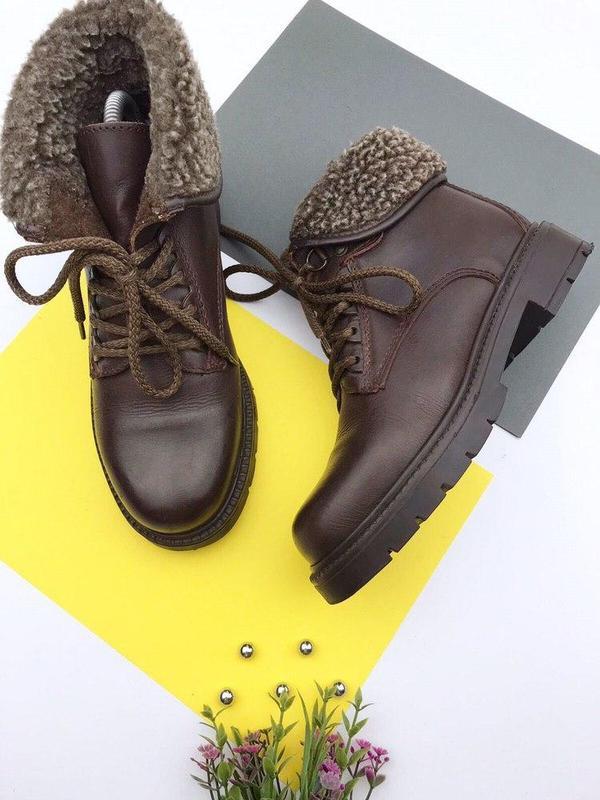 Кожаные демисезонные ботинки wendel