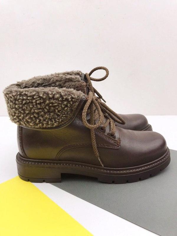 Кожаные демисезонные ботинки wendel - Фото 5