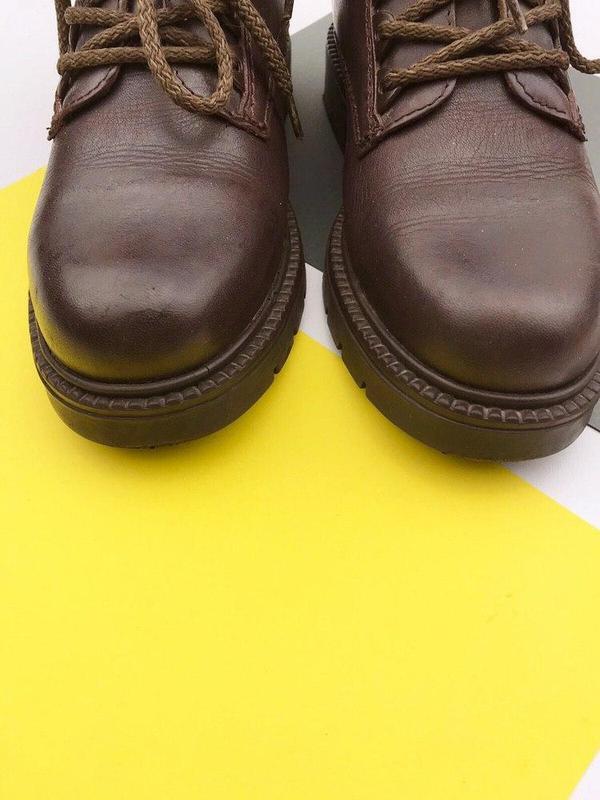 Кожаные демисезонные ботинки wendel - Фото 7