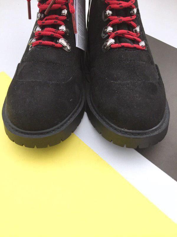Стильные ботинки на шнуровке sinsay - Фото 4